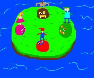 Mario Party 64 Standoff