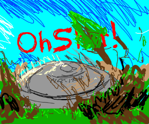 USS Enterprise-D saucer crash landing
