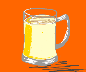 Sunny beer