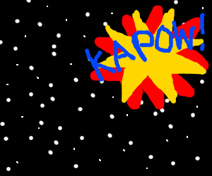 comic book onomatopoeia lost in space