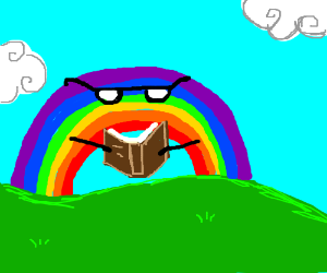 a literal reading rainbow