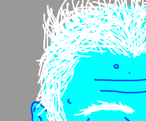 Close up of Jack Frost's hair