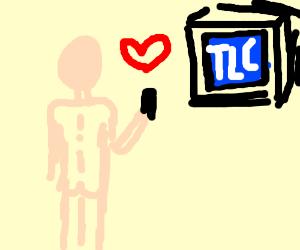 Naked man loves TLC