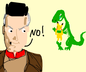 Dino gets Pikachu; Russian guy says no