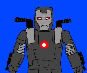 Warmachine Ironman looking serious.