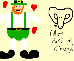 Tall, Fat, Irish Man loves Doge