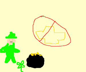 Leprechaun doesn't like ford or Chevy