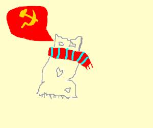 Communist Rag with Scarf