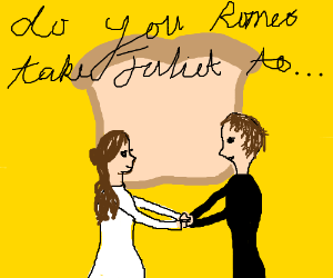 romeo and juliet are married by bread