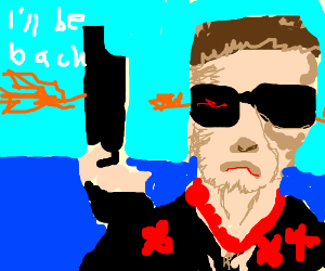 The Terminator takes a vacation