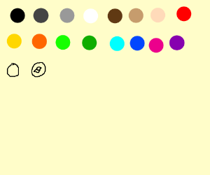Use all colours in the drawception palette.