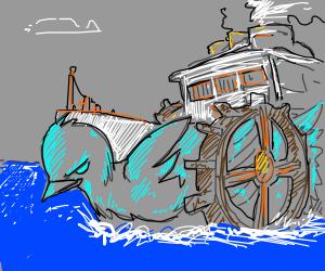 Steampunk Bluebird Boat?