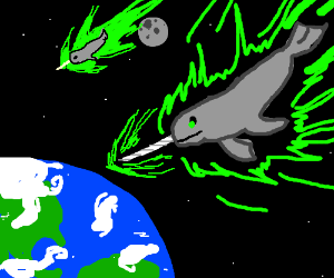 Radioactive Narwhals From Space!!!