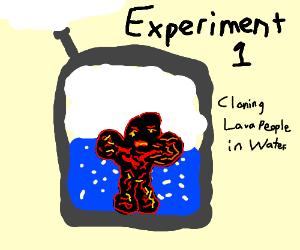 Science Experiments: Lava People Incubators