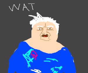 Confused man