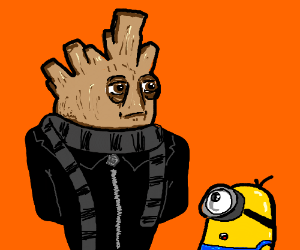 Despicable Groot