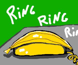 The banana phone is ringing