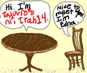 A table says he's Taiuvro's ni'i trah14