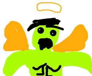 Dead-eyed angel Hulk