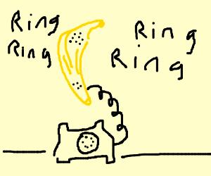 RING RING RING RING RING BANANA PHONE
