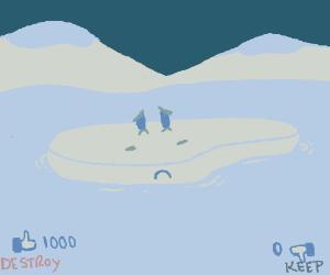 Sending likes to desteoy the iceberg