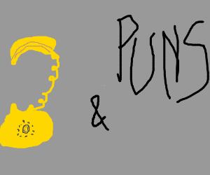 Banana Cell Phone and Puns