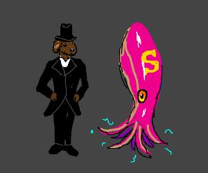 Dapper Dog and Super Squid