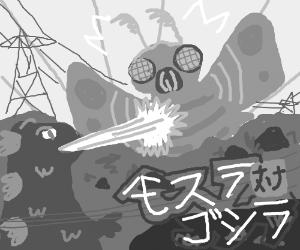 Mosura tai Gojira! THE CLASSIC ONE!