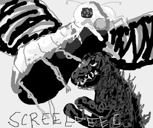 Japanese Godzilla vs Mothra film