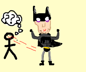 No-one understands Batman in tights