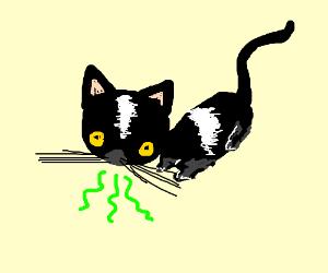 My Cats Breath Smells Like Cat Food Drawception