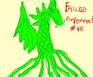 DRAGON FAIL DESIGN: 1 head, 4 bodies