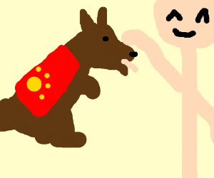 Who's a good China's tree doggie? You are!