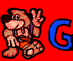 Banjo (from Banjo Kazooie) and G