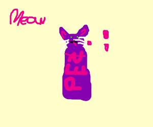 Purple Cat Pez Dispenser