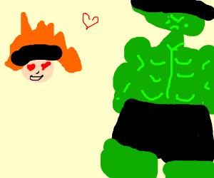 akatsuki loves the hulk