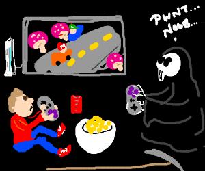 death pwns noobs.
