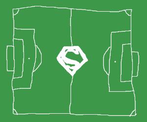 Superman's football stadium