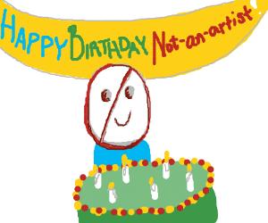 Happy birthday Not-An-Artist!
