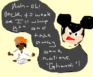 mickey mouse's indian slave labour