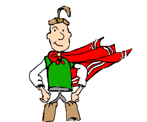 quail man - Drawception Quailman Doug Funnie
