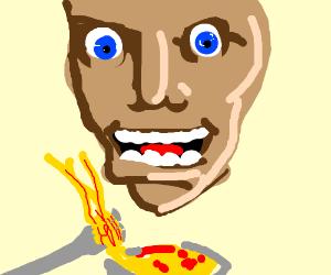 Spaghetti makes ya HAPPEH! :D