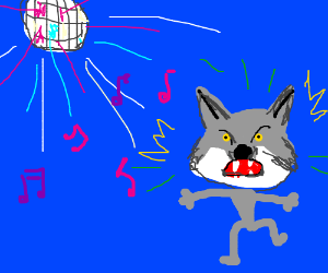 Courage Wolf becomes Party God, becomes insane