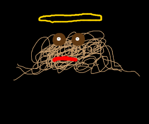 God is spagetti