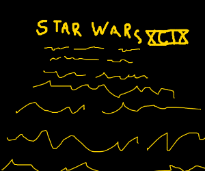 In a galaxy far away....
