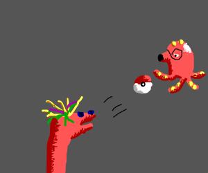Sock puppet capture an Octillery