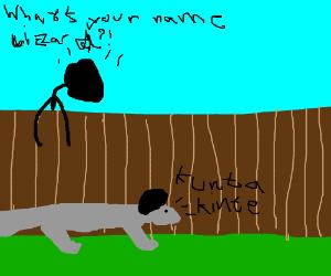 "What is your name lizard!? ""kunta kinte"""