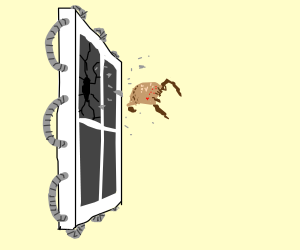 A video game creature breaks the fourth wall
