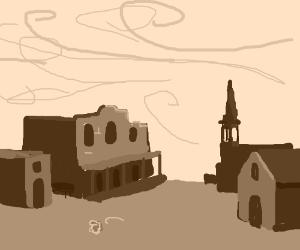 Deserted Cowboy Town