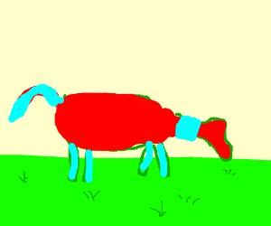 Captain Planet Horse